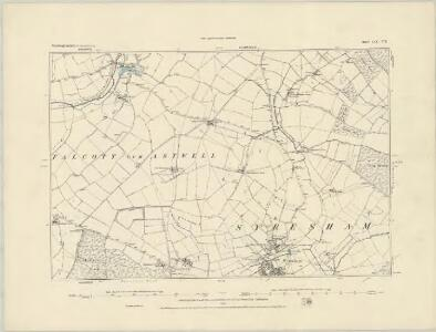 Northamptonshire LIX.NW - OS Six-Inch Map