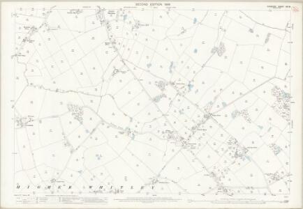 Cheshire XXV.8 (includes: Antrobus; Hatton; Stretton; Whitley) - 25 Inch Map