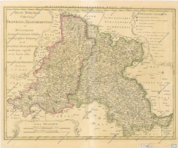 Regni Bohemiae Circuli Biczoviensis et Regionhradecensis...