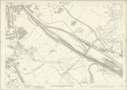 Middlesex XVI.1 (includes: Ealing St Mary; Wembley; Willesden) - 25 Inch Map