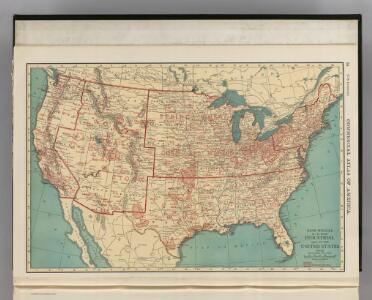 Industrial Map of the United States.