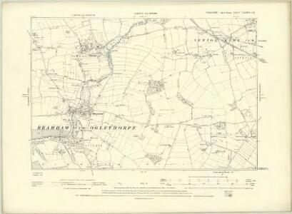 Yorkshire CLXXXV.SE - OS Six-Inch Map