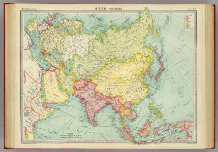Asia - political.
