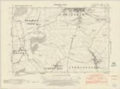 Leicestershire XL.SW - OS Six-Inch Map