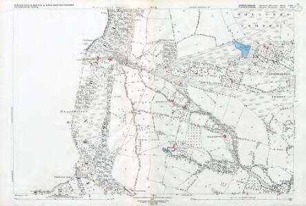 Worcestershire LIII.4 (includes: Berrow; Birtsmorton; Bromsberrow; Castlemorton; Eastnor) - 25 Inch Map