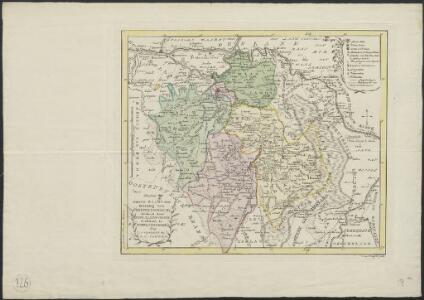 Nieuwe kaart van de meierij van 's Hertogenbosch