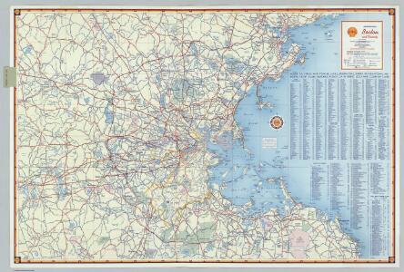 Shell Metropolitan Boston and Vicinity.
