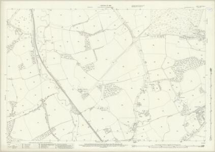 Surrey XXXIX.6 (includes: Cranleigh) - 25 Inch Map