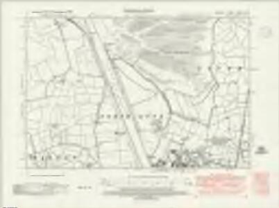 Norfolk XXXIII.NW - OS Six-Inch Map