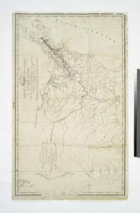 A Map of the frontier of British North America and the United States: describing the boundary line as fixed by the Treaty of 1783 which has never been respected by the American government ...