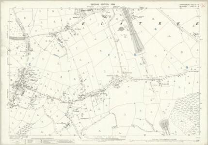 Hertfordshire XLV.5 (includes: Aldenham; Elstree; Harrow; Hendon) - 25 Inch Map