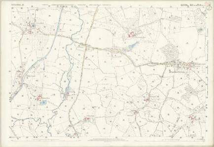 Herefordshire XLI.16 (includes: Donnington; Dymock) - 25 Inch Map