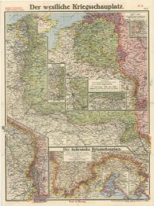 Paasche's Frontenkarte, Nr.8. Der Krieg gegen Russland