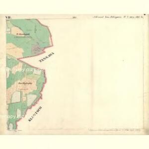 Alt u. Neu Possigkau - c6041-1-007 - Kaiserpflichtexemplar der Landkarten des stabilen Katasters