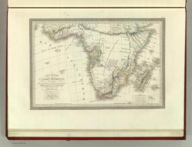 Carte Generale de L'Afrique Meridionale.