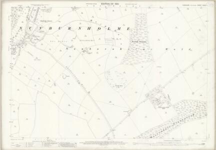 Yorkshire CXCIV.1 (includes: Hayton; Londesborough; Nunburnholme) - 25 Inch Map