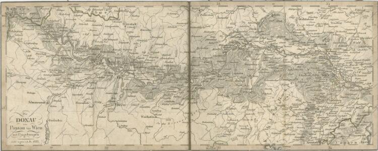 Die Donau von Passau bis Wien mit Umgebungen