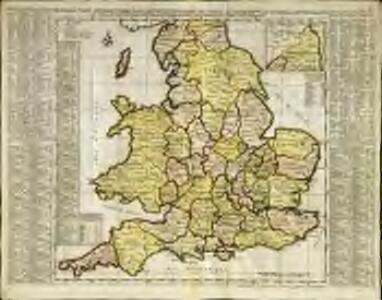 Nouvelle carte de l'Angleterre