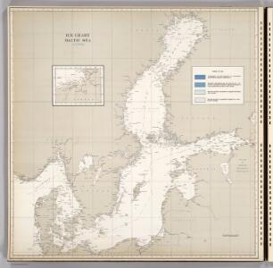 Ice Chart, Baltic Sea, October.