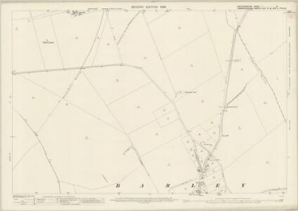 Hertfordshire V.10 (includes: Barkway; Barley; Great Chishill; Little Chishill) - 25 Inch Map
