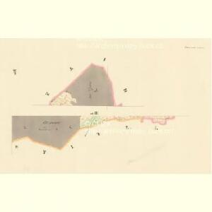 Blisanow (Bližanow) - c0285-1-003 - Kaiserpflichtexemplar der Landkarten des stabilen Katasters