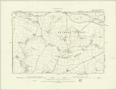 Somerset LVIII.SW - OS Six-Inch Map