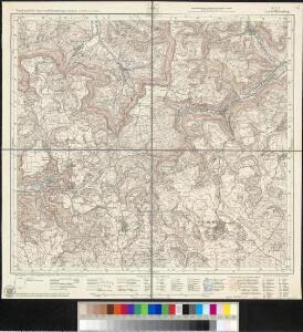 Meßtischblatt [7423] : Wiesensteig, 1935