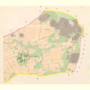 Strups - c7210-1-004 - Kaiserpflichtexemplar der Landkarten des stabilen Katasters