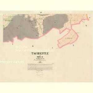 Tschepitz - c0853-1-003 - Kaiserpflichtexemplar der Landkarten des stabilen Katasters