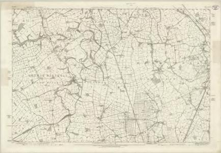 Cheshire XLVII - OS Six-Inch Map