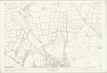 Wiltshire XL.7 (includes: Potterne; Stert; Urchfont) - 25 Inch Map