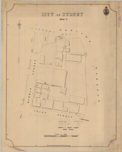 City of Sydney, Sheet F3, 1892