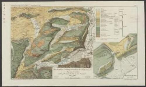 Kreide-Gebirge nördlich des Klönthales