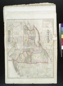 Map of the state of New-York and the surrounding country / by David H. Burr; engd. by Rawdon, Clark & Co., Albany, & Rawdon, Wright & Co., New York.; An atlas of the state of New York: containing a map of the state and of the several counties / by David H. Burr.