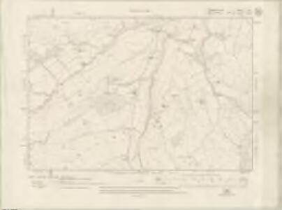 Fife and Kinross Sheet X.SE - OS 6 Inch map