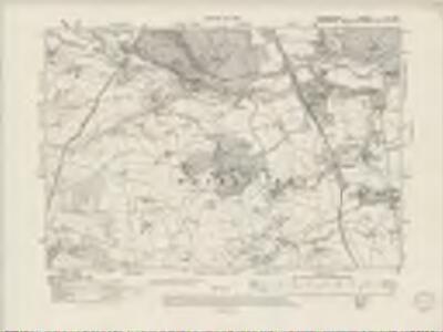 Denbighshire XL.SW - OS Six-Inch Map