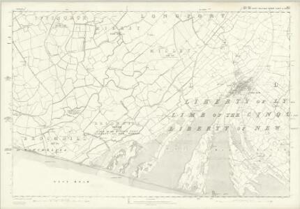Sussex XLVI - OS Six-Inch Map