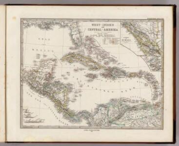 West-Indien und Central-Amerika.