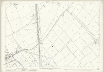 Huntingdonshire V.12 (includes: Farcet; Yaxley) - 25 Inch Map
