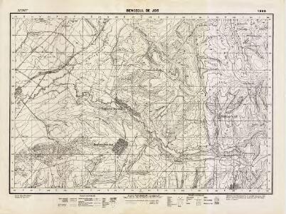 Lambert-Cholesky sheet 1860 (Bencecul de Jos)