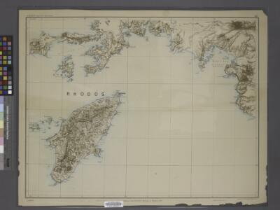 Sheet 14. 1: 250,000. / dressée par Henri Kiepert d'après ses propres observations et d'autres levées pour la plupart inédites = Map of the western part of Asia Minor