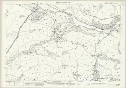 Shropshire V.13 (includes: Chirk; Glyntraean; Weston Rhyn) - 25 Inch Map