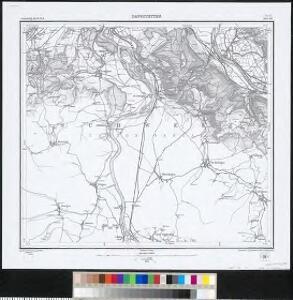 Meßtischblatt [8415] : Dangstetten, 1879