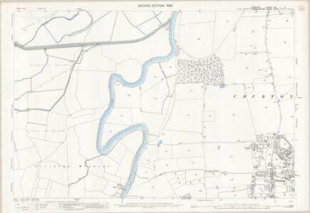 Cheshire LIII.3 (includes: Aldford; Allington; Churton by Aldford; Churton by Farndon; Poulton) - 25 Inch Map