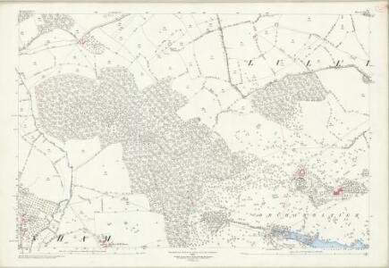 Somerset XXX.6 (includes: Buckland Dinham; Hemington; Lullington) - 25 Inch Map