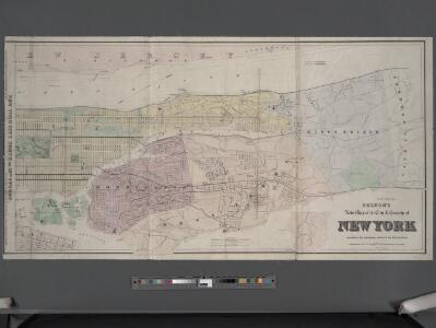 Map Of New York Harlem.Colton S New Map Of The City And County Of New York North And South