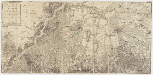 Neuester Grundriss der Haupt und Residenzstadt Wien und der umliegenden Gegenden