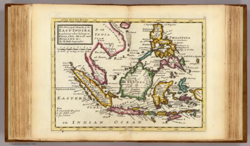 Prinicipal islands of the East-Indies.