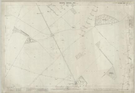 Wiltshire LIV.1 (includes: Figheldean; Netheravon; Orcheston; Shrewton) - 25 Inch Map