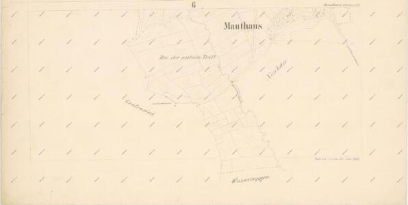 Katastrální mapa obce Mýtnice spolu s obcemi Herštejnské Chalupy a Křížová Huť WC-XIV-24 dh, cdf